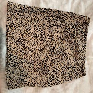 Randy Melvin cheetah skirt